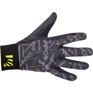 Karpos LEGGERO rukavice čierne/tmavosivé