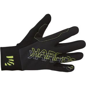 Karpos RACE skialpové rukavice čierne/zelené