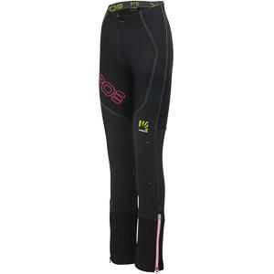 Karpos ALAGNA LITE dámske nohavice čierne/žlté/ružové fluo
