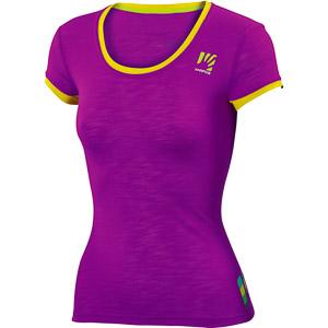 Karpos PROFILI LITE dámske tričko cyklamenové