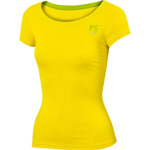 Karpos LOMA dámske tričko žlté