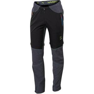 Karpos ROCK ZIP-OFF Odopínateľné Nohavice čierne/sivé