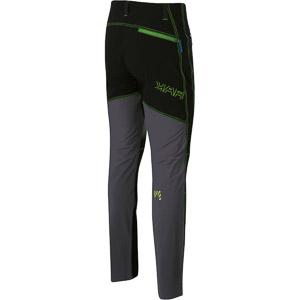 Karpos FANTASIA EVO nohavice tmavosivé/čierne/zelené
