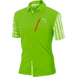 Karpos FREE SHAPE outdoorová košeľa zelená