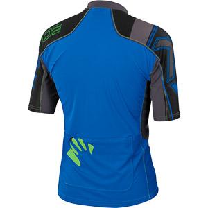 Karpos TECK MTB dres modrý/sivý/čierny