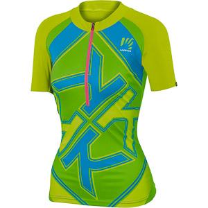 Karpos RAPID dámsky MTB dres zelený/modrý