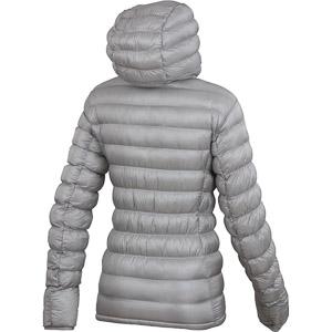 Karpos MULAZ bunda dámska strieborná sivá