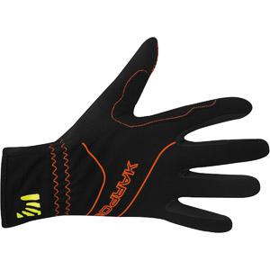 Karpos ALAGNA rukavice čierne/oranžové