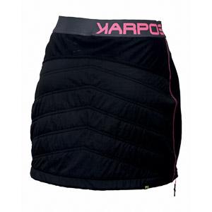 Karpos ALAGNA PLUS sukňa dámska čierna/fluo ružová