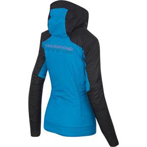 Karpos VINSON bunda dámska čierna/modrá/antracit