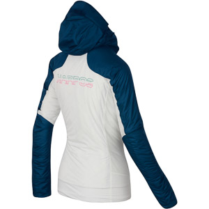Karpos VINSON dámska bunda biela/tmavomodrá