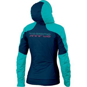 Karpos VINSON dámska bunda tyrkysová/modrá