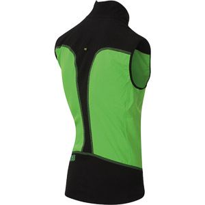 Karpos PARETE vesta zelená/čierna