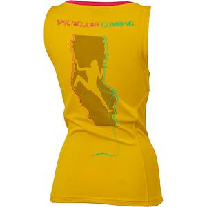 Karpos Futura lezecké tielko dámske žlté