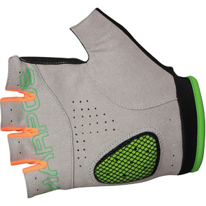 Karpos RAPID 1/2 rukavice tmavosivé/zelené