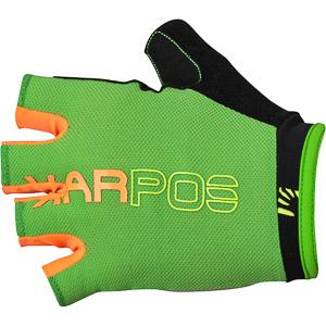 Karpos RAPID krátke MTB rukavice zelené/oranžové