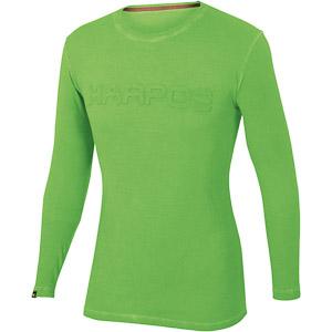 Karpos FALCHI Tričko dlhý rukáv zelené