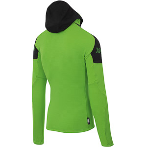 Karpos K-PERFORMANCE Fleece mikina svetlozelená/antracit