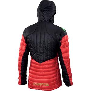Karpos K-PERFORMANCE LIGHT DOWN bunda ohnivočervená/čierna
