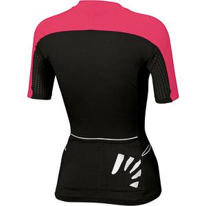 Karpos PRALONGIA' dámsky dres ružový/čierny