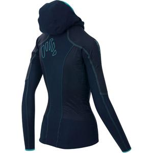Karpos LAVAREDO dámska bunda tmavomodrá/modrá/zelená