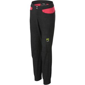 Karpos FUTURA Dámske nohavice čierne ružové