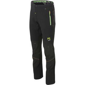 Karpos RAMEZZA LIGHT Nohavice, čierne, zelené fluo