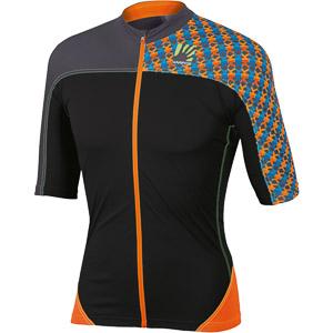 Karpos TECK EVO Dres oranžový fluo/čierny