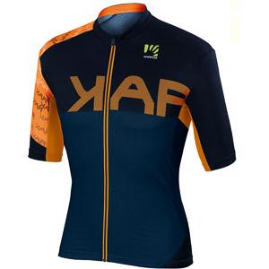 Karpos JUMP dres modrý/oranžový fluo