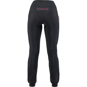 Karpos EASYGOING WINTER dámske nohavice čierne/ružové fluo