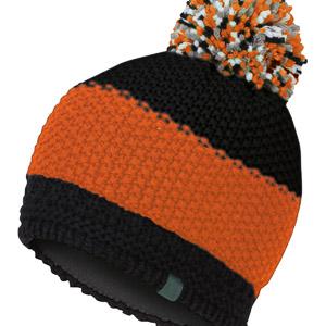 Karpos ROZES čiapka s brmbolcom tmavomodrá/oranžová
