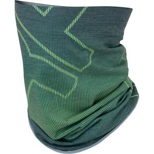 Karpos COPPOLO Merino nákrčník svetlozelený/zelený fluo