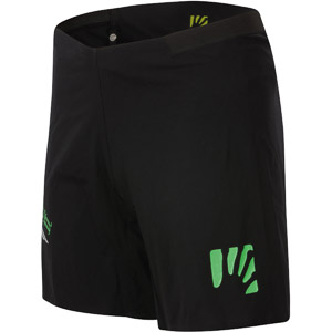 Karpos LAVAREDO kraťasy čierne/zelené fluo