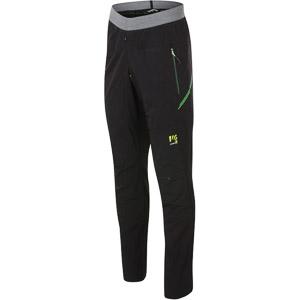 Karpos TRE CIME nohavice čierne/zelené fluo