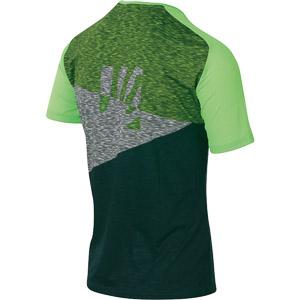 Karpos CRODA ROSSA tričko zelené/zelené fluo