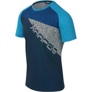 Karpos CRODA ROSSA tričko modré/sivé