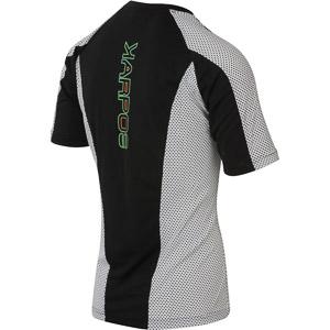 Karpos SASSONGHER tričko čierne/biele