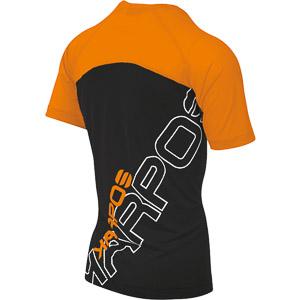 Karpos MOVED EVO tričko oranžové fluo/čierne