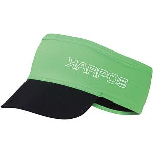 Karpos LAVAREDO čelenka so šiltom zelená fluo
