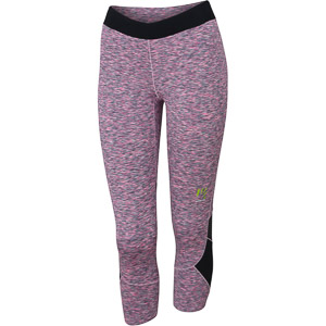 Karpos PIAN DI CENGIA dámske 3 nohavice ružové fluo/melanž