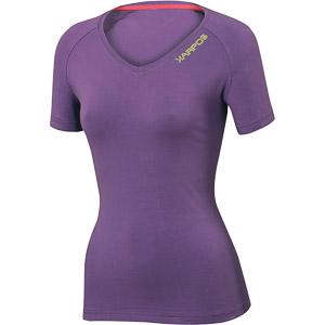 Karpos RODODENDRO dámske tričko fialové