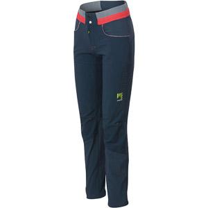 Karpos K-P SPORT dámske lezecké nohavice modré/ružové