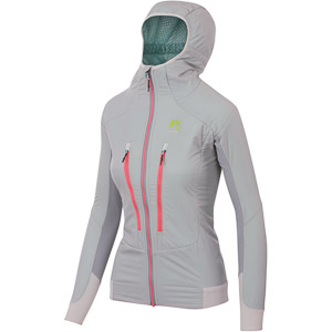 Karpos K-P HYBRID dámska bunda sivá/ružová