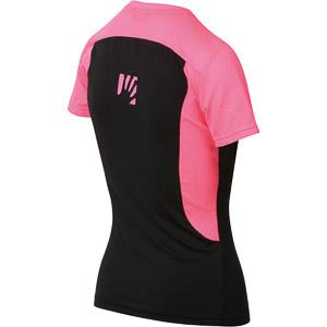 Karpos GIRALBA dámske tričko čierne/ružové fluo
