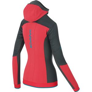 Karpos ALAGNA PLUS EVO dámska bunda červená/čierna