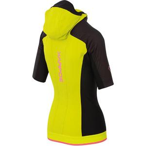 Karpos ALAGNA PLUS EVO Puffy bunda s krátkym rukávom čierna/žltá