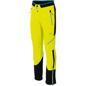 Karpos ALAGNA PLUS EVO nohavice žlté/čierne
