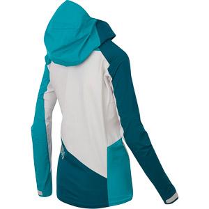 Karpos MARMOLADA  dámska bunda modrá/biela/tyrkysová