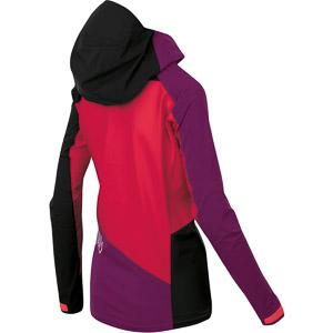 Karpos MARMOLADA  dámska bunda ružová/slivková/čierna
