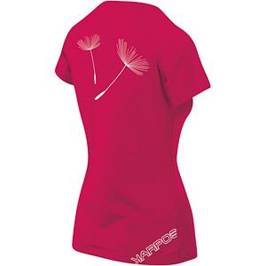 Karpos GENZIANELLA dámske tričko malinové